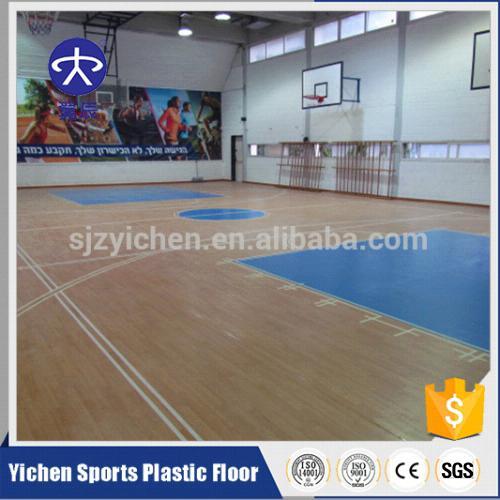 篮球馆PVC塑胶地板